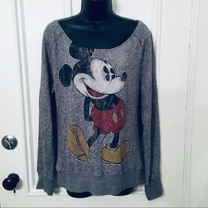 Disney Parks Mickey Mouse Large Oversized Sweater